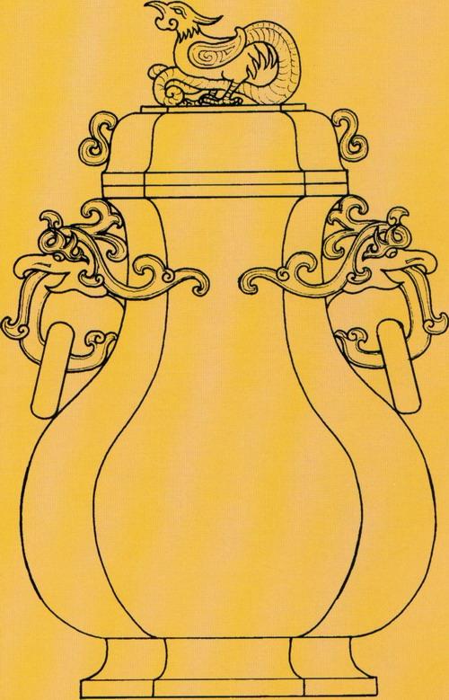 玉雕炉瓶器皿优秀设计图稿(上)